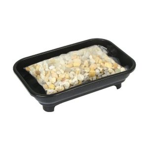 Bonsai Humidity Tray 4x6 with Pebbles