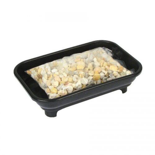 Bonsai Humidity Tray 4x6 with Pebbles