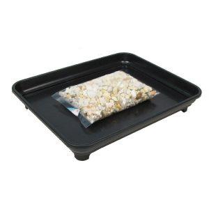 Bonsai Humidity Tray 8x10 with Pebbles
