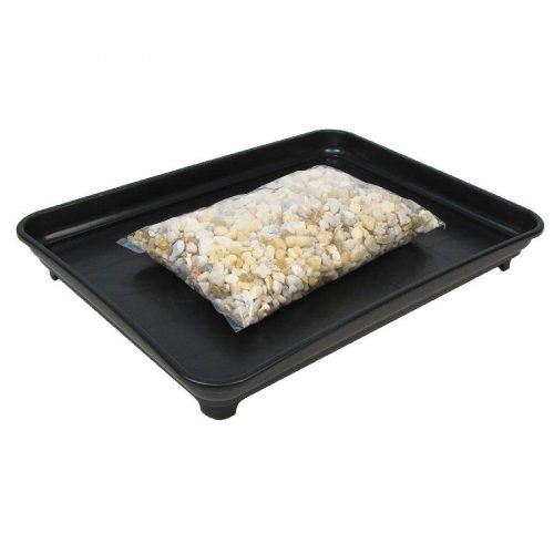 Bonsai Humidity Tray 9x12 with Pebbles